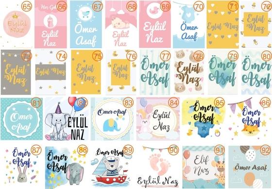 Baby Shower Bebek Lavanta Kesesi - Thumbnail