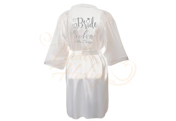 Harika Bride Sabahlık – 90 cm - Thumbnail
