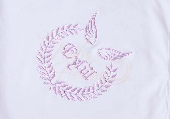 İsimli Battaniye - Melek Kanadı Nakışlı - Thumbnail