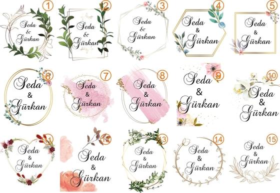 Kokulu Söz Nişan Düğün Lavanta Kesesi - Thumbnail
