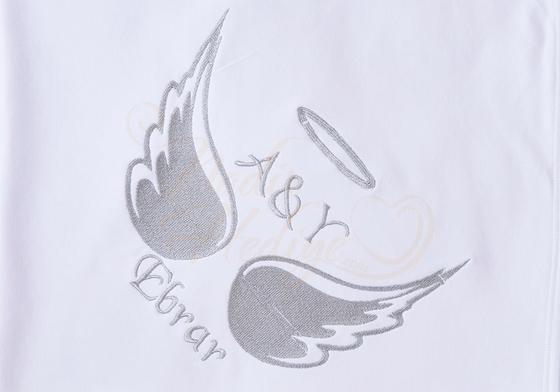 Melek Kanadı Battaniye - İsme Özel Nakışlı - Thumbnail