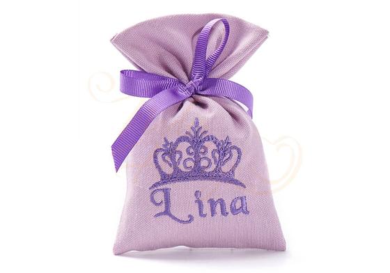 Prenses Tacı Bebek Lavanta Kesesi - Thumbnail