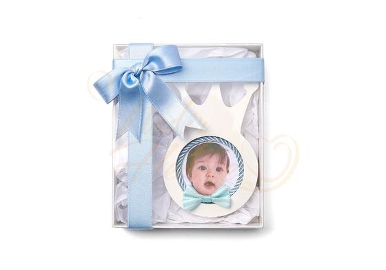 Taç Çerçeve Kokulu Taş Bebek Şekeri - Thumbnail